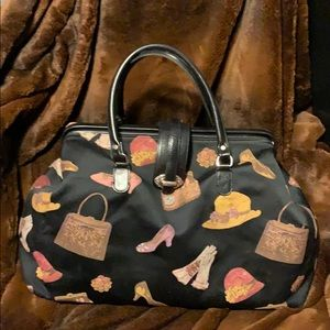 Raviani Fabric Gladstone Bag